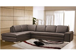 Bender Leather Sectional
