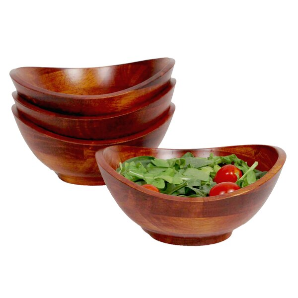 Faison Individual Salad Bowl (Set of 4) by Mint Pantry