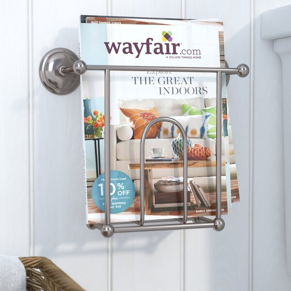 Leslie Wall Mounted Magazine Rack by Winston Porter