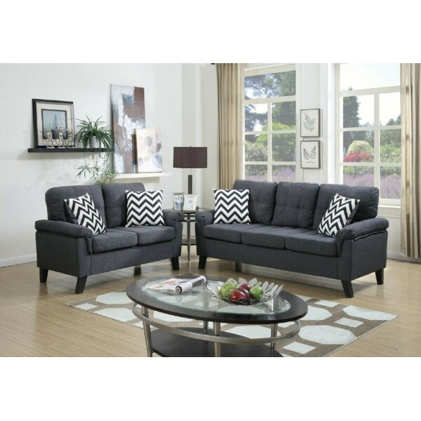 Crumb 2 Piece Living Room Set by Ebern Designs
