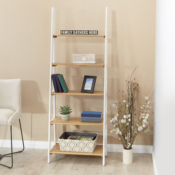 Toftrees Ladder Bookcase By Ebern Designs