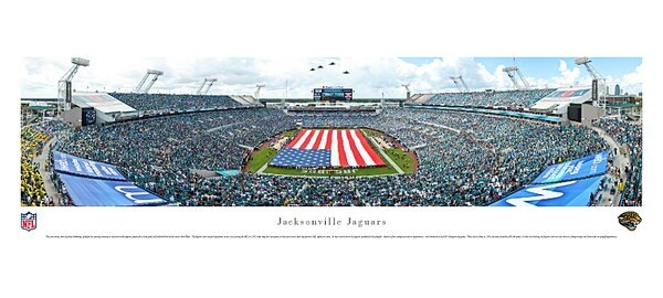 NFL Jacksonville Jaguars - Opening Ceremony Photographic Print by Blakeway Worldwide Panoramas, Inc