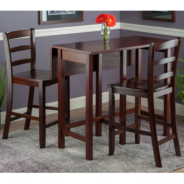 Bettencourt 3 Piece Drop Leaf Dining Set by Red Barrel Studio