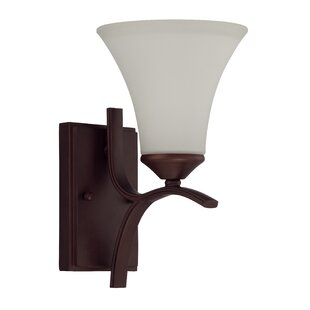 Coupon Sterling 1-Light Wall Sconce By Red Barrel Studio
