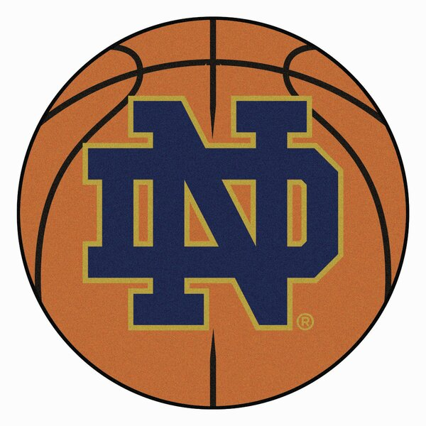 NCAA Notre Dame Basketball Mat by FANMATS