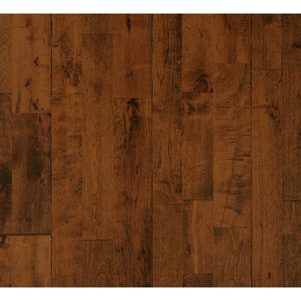 Dalton 7.88 Solid Birch Hardwood Flooring in Warm by Albero Valley