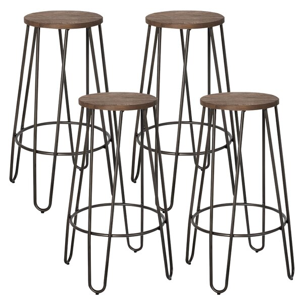 Cool 26 Bar Stool Set Of 4 By Nspire Unemploymentrelief Wooden Chair Designs For Living Room Unemploymentrelieforg