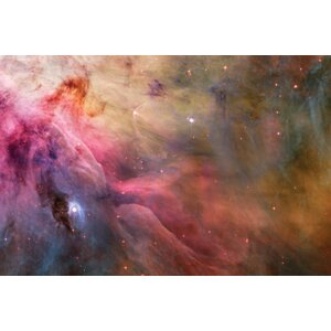 LL Orionis Interacting With the Orion Nebula Flow Graphic Art on Wrapped Canvas by East Urban Home