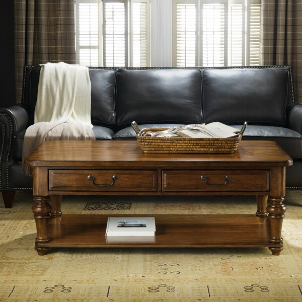 Tynecastle Coffee Table with Storage by Hooker Furniture