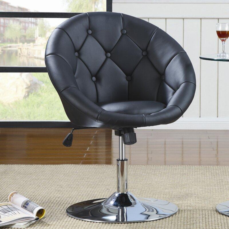 swivel bar stools with wheels wade logan adjustable height swivel bar stool reviews wayfair
