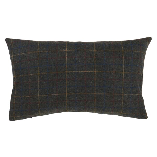 Josephine Plaid Design Lumbar Pillow by Millwood Pines