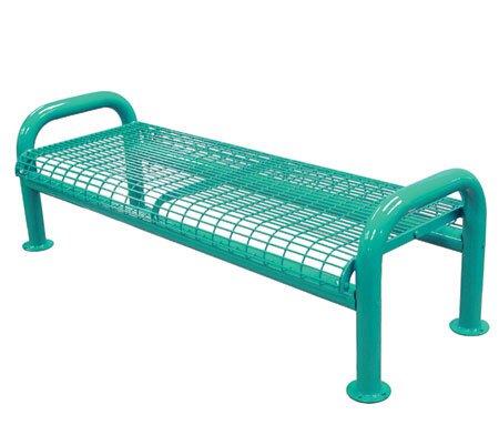 U-Leg Metal Picnic Bench by Leisure Craft
