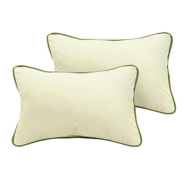 Worthington Sunbrella Outdoor Lumbar Pillow (Set of 2) by Rosecliff Heights