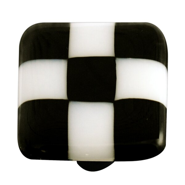 Lil' Squares Square Knob by Aquila Art Glass
