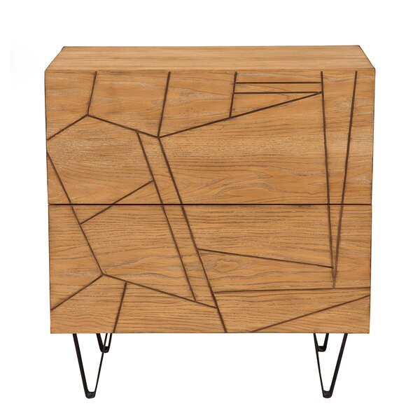 Benjamin 2 Drawer Nightstand by Langley Street