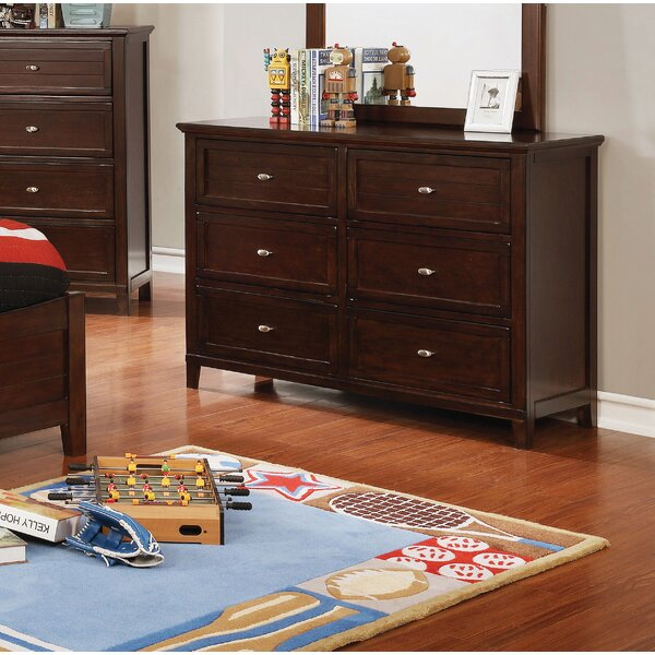 Sebring 6 Drawer Double Dresser by Harriet Bee