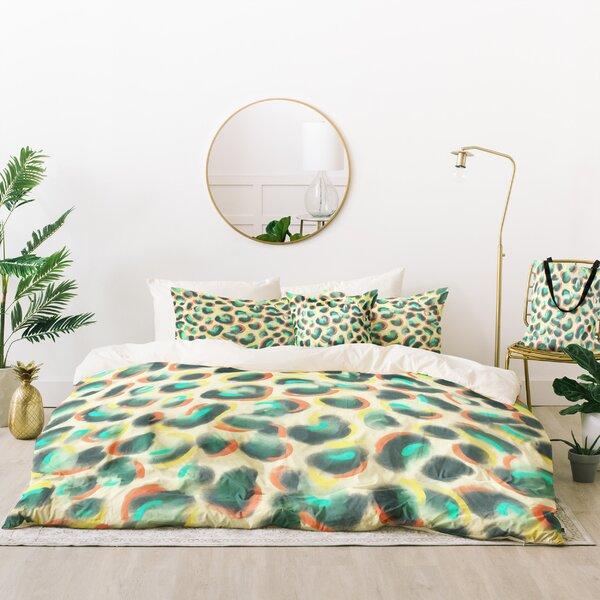 Jacqueline Maldonado Leopard Warm Duvet Cover Set