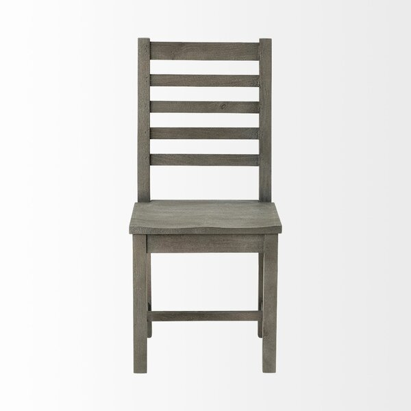 Guitierrez Solid Wood Dining Chair (Set of 2) by Gracie Oaks