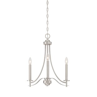Best Choices Naugatuck 3-Light Candle Style Chandelier By Alcott Hill