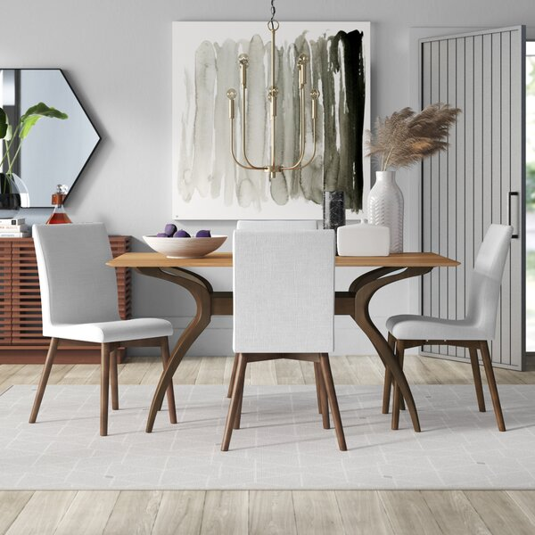 Bargain Liles 5 Piece Dining Set By Mercury Row 2019 Coupon