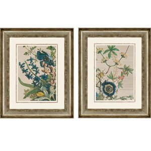 February Detail by Furber 2 Piece Framed Graphic Art Set by Paragon