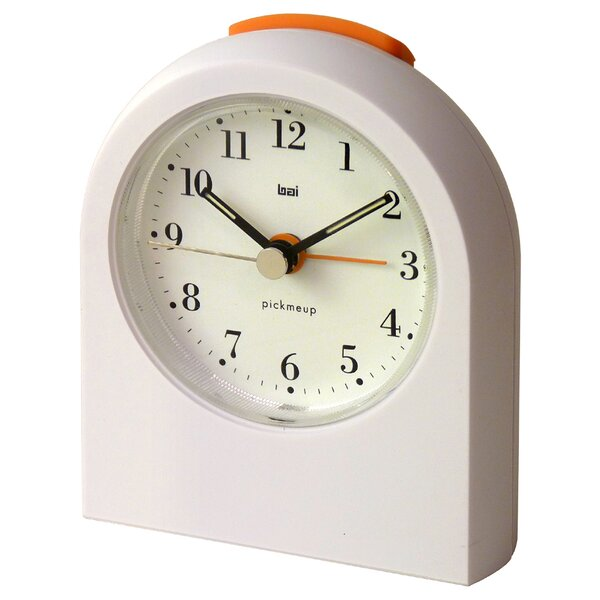 Pick-Me-Up Alarm Clock in Bodoni by Bai Design
