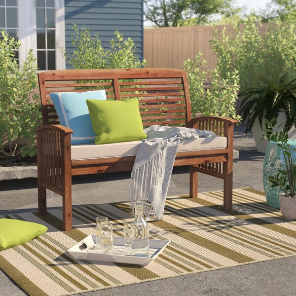 Laverton Loveseat with Cushions by Sol 72 Outdoor