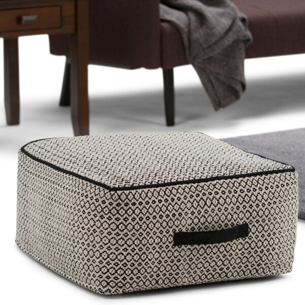 Mildenhall Pouf Ottoman by Wrought Studio