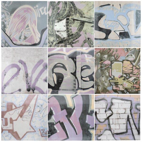 Pintada 17.38 x 17.38 Porcelain Field Tile in Brown/Beige/Tan by EliteTile