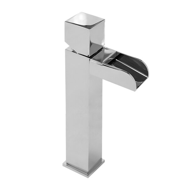 Square Handle Lavatory Vessel Sink Bathroom Faucet by Valley Acrylic Ltd. Valley Acrylic Ltd.