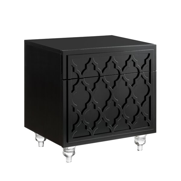 Fiora 1 Drawer Nightstand By Rosdorf Park by Rosdorf Park Savings