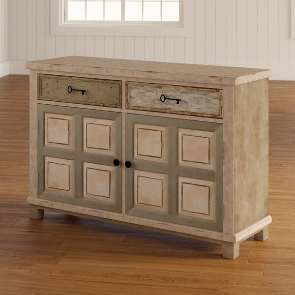 Zettie 2 Drawer 2 Door Accent Cabinet by August Grove