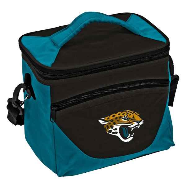 9 Can Jacksonville Jaguars Halftime Lunch Cooler by Logo Brands