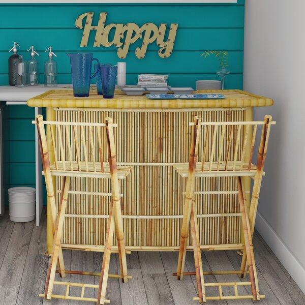 Josephine 3 Piece Bar Set By Beachcrest Home