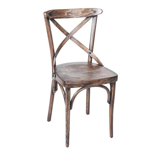 Cross Side Chair in Vintage by BFM Seating BFM Seating