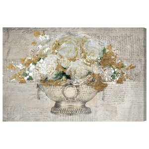 'Monaco Rose Ball' Graphic Art on Wrapped Canvas by Willa Arlo Interiors
