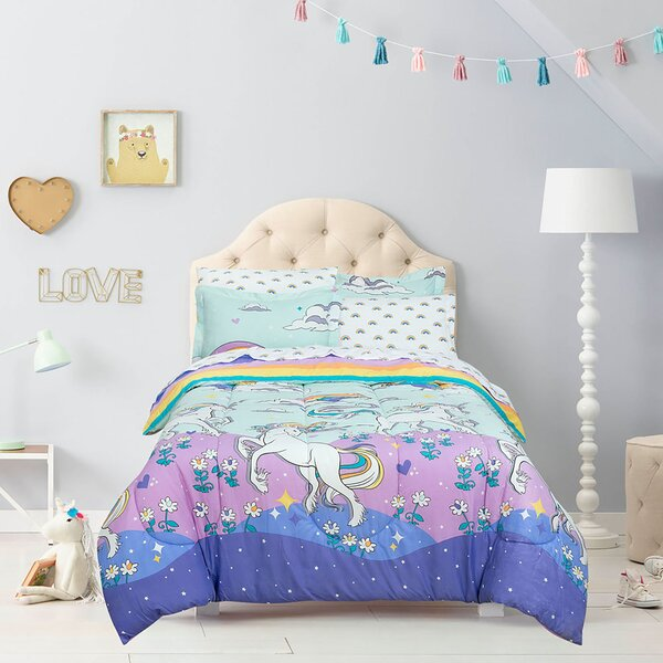 Space Explorer Astronauts Planets Stars and Spaceships Super Soft Full Bed in a Bag with Reversible Comforter and Sheet Set