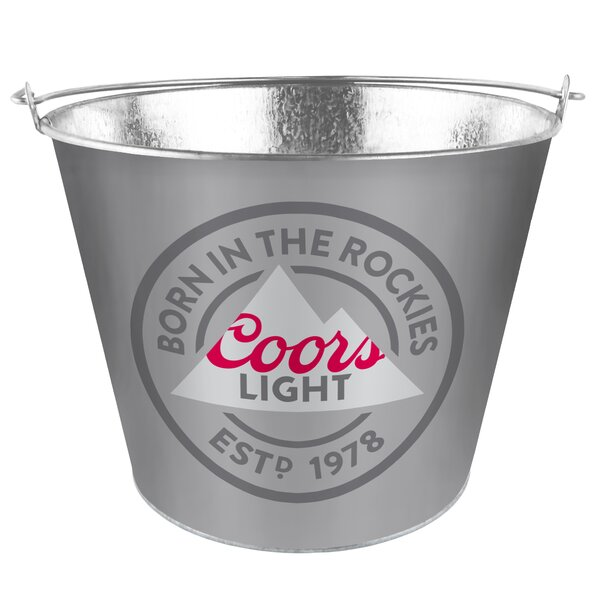 Coors Light Ice Bucket by Boelter Brands