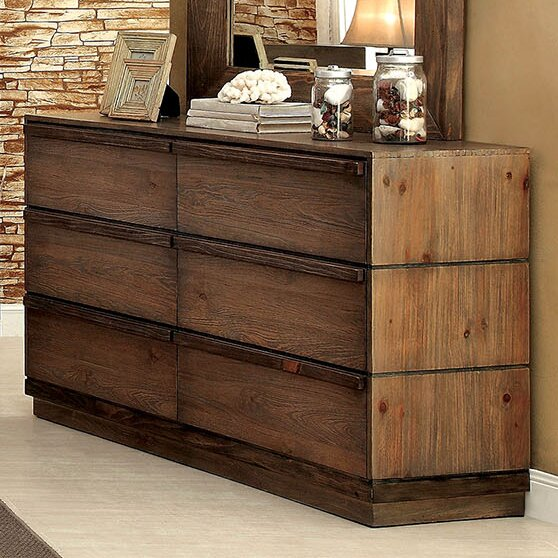 Anita 6 Drawer Double Dresser by A&J Homes Studio