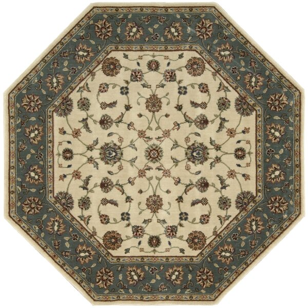 Bayhills Ivory/Rust Area Rug by Astoria Grand