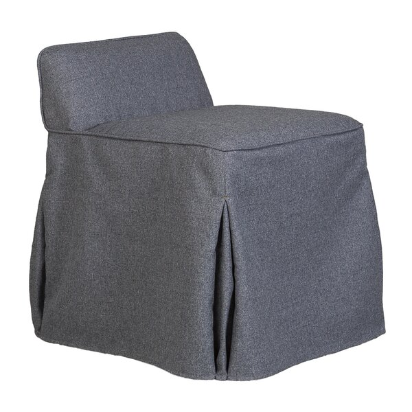 Suvi Slipcover Vanity Stool by Darby Home Co