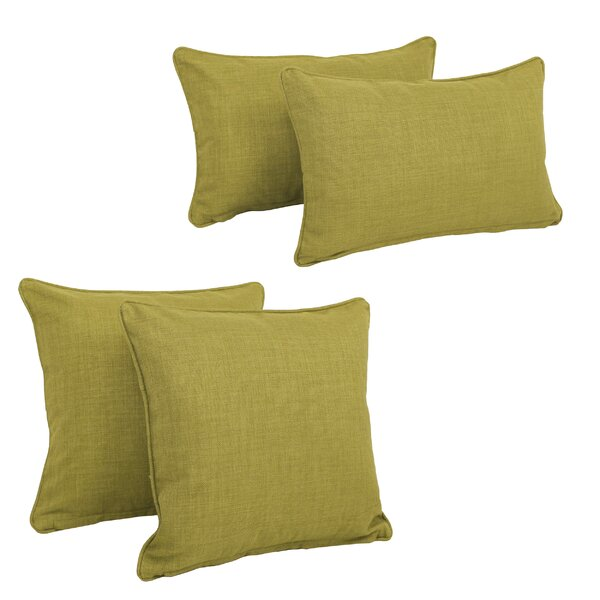 Juliet 4 Piece Outdoor Throw Pillows Set by Zipcode Design  @ $80.99