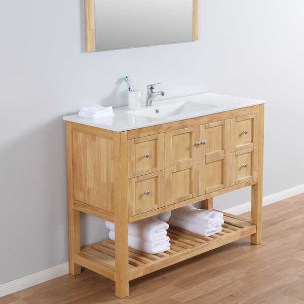 Barkell 48 Single Bathroom Vanity Set with Mirror