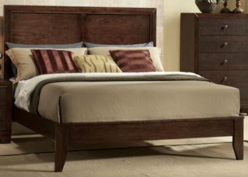 Uribe Panel Bed by Winston Porter