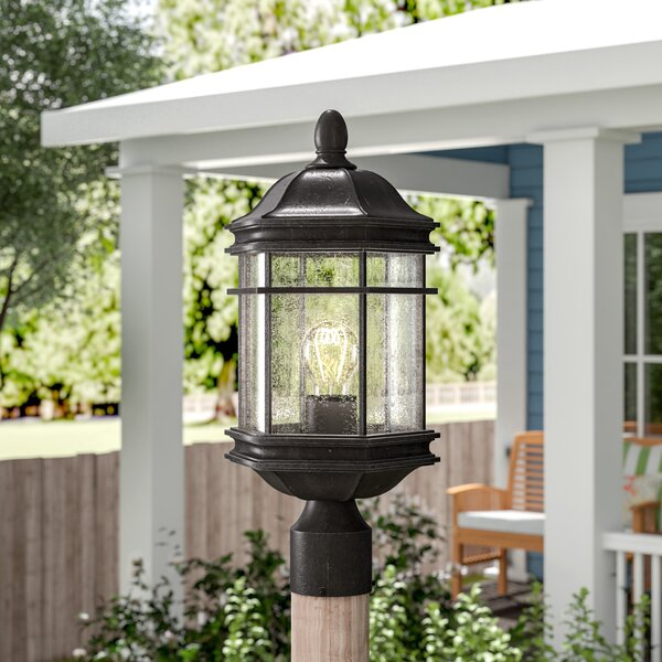 Heintz Outdoor 1-Light Lantern Head by Three Posts