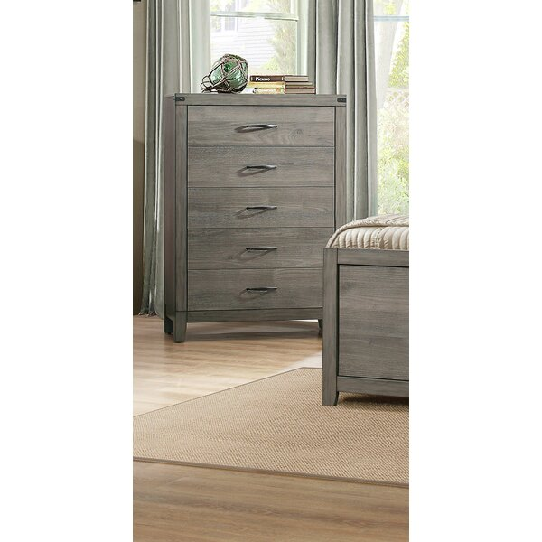 Camire 5 Drawer Chest by Union Rustic