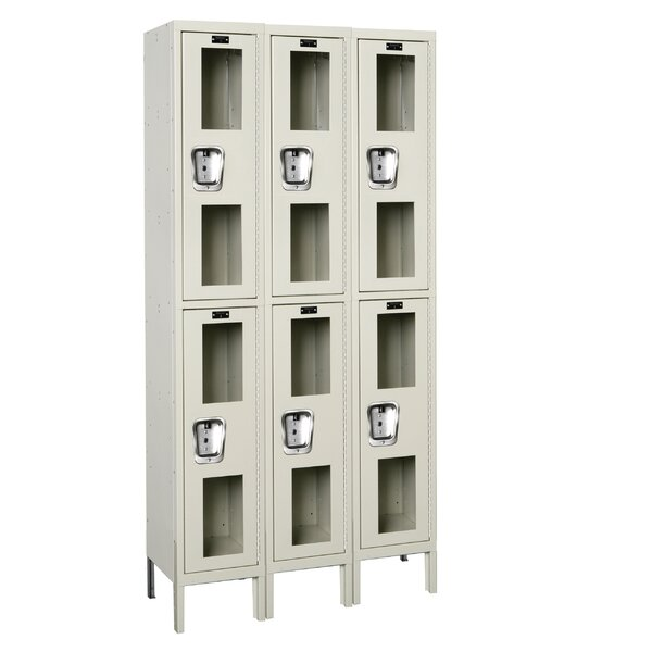 Safety-View 2 Tier 3 Wide Safety Locker by Hallowell