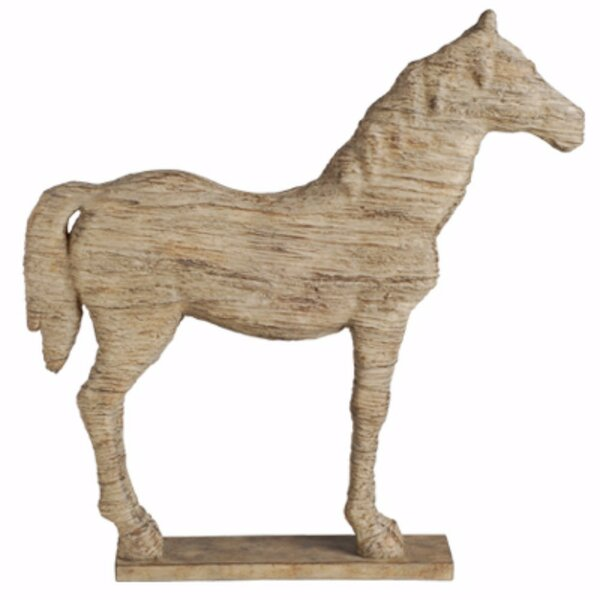 Pavonia Intriguing Defiance Polyresin Horse Figurine by Union Rustic