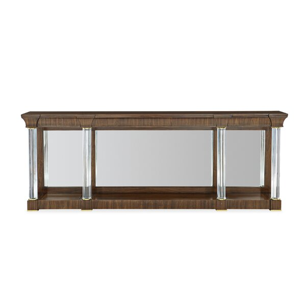 Caracole Classic Brown Console Tables