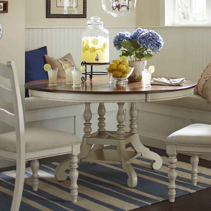 Dalton Round Extending Dining Table & Reviews | Birch Lane